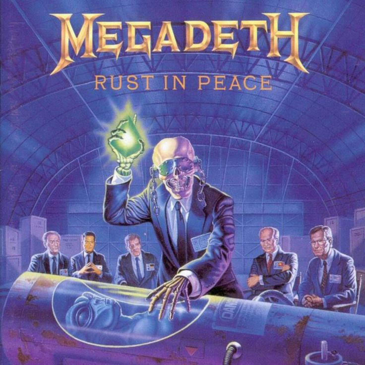 Megadeth-Rust in Peace-1990