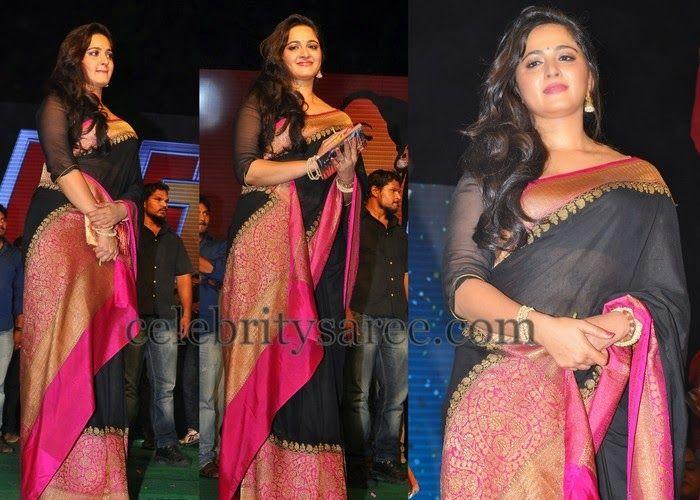 Anushka at Rudrama Devi Audio Event