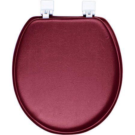 Merlot Soft Toilet Seat, Red