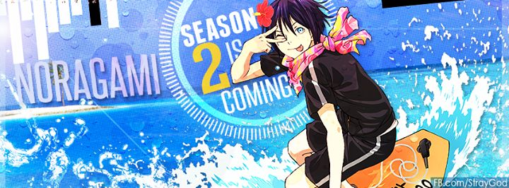 Yato <3 <3 <3 noragami season 2