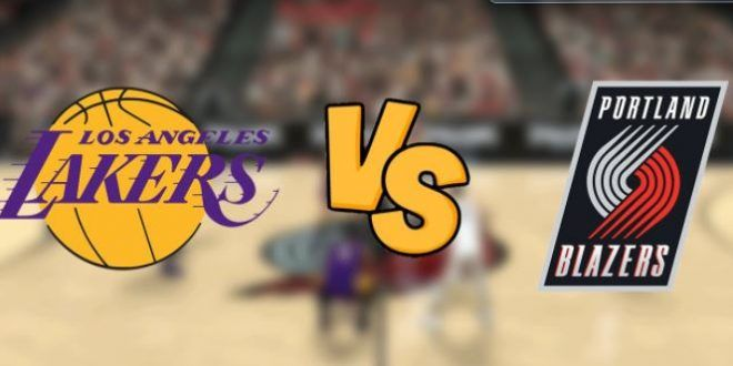 Los Angeles Lakers vs Portland Trail Blazers