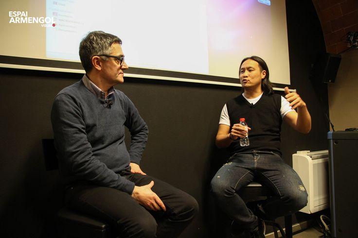 https://flic.kr/s/aHskqFhu8J   Conferència - 'De Mazinger Z a emprenedor en sèrie' - Dídac Lee i Joan Manel Soldevilla - 05.02.16   www.espaiarmengol.com
