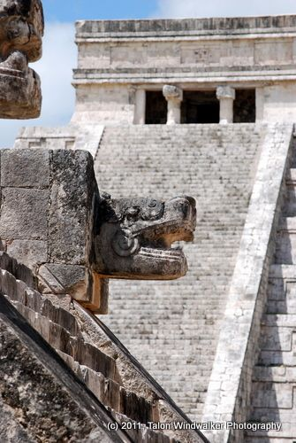 Chichen Itza, Northern Mayan Lowland site of prominence between 600 and 1200 CE  was one of the largest Mayan cities and consists of numerous buildings and sites, many restored.
