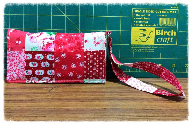 Mobile phone case, mobile pouch, iPhone case with wristlet by FengsCreations on Etsy