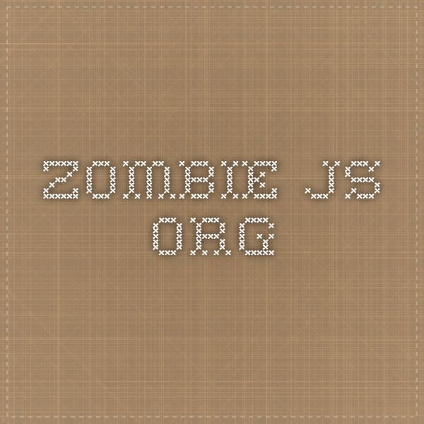 zombie.js.org