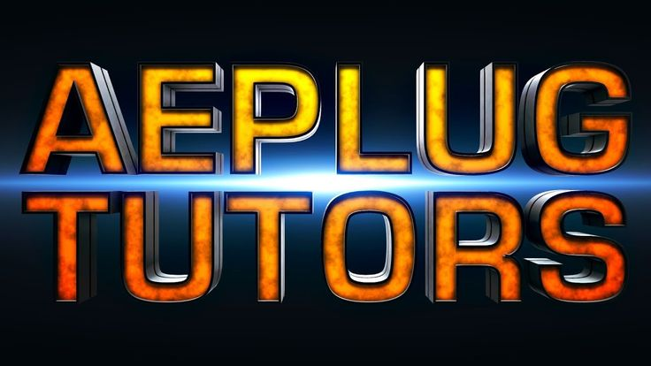 AEplus 009 - Extrude Cool 3D Text with Element 3D in After Effects (Mayor Grom Style)