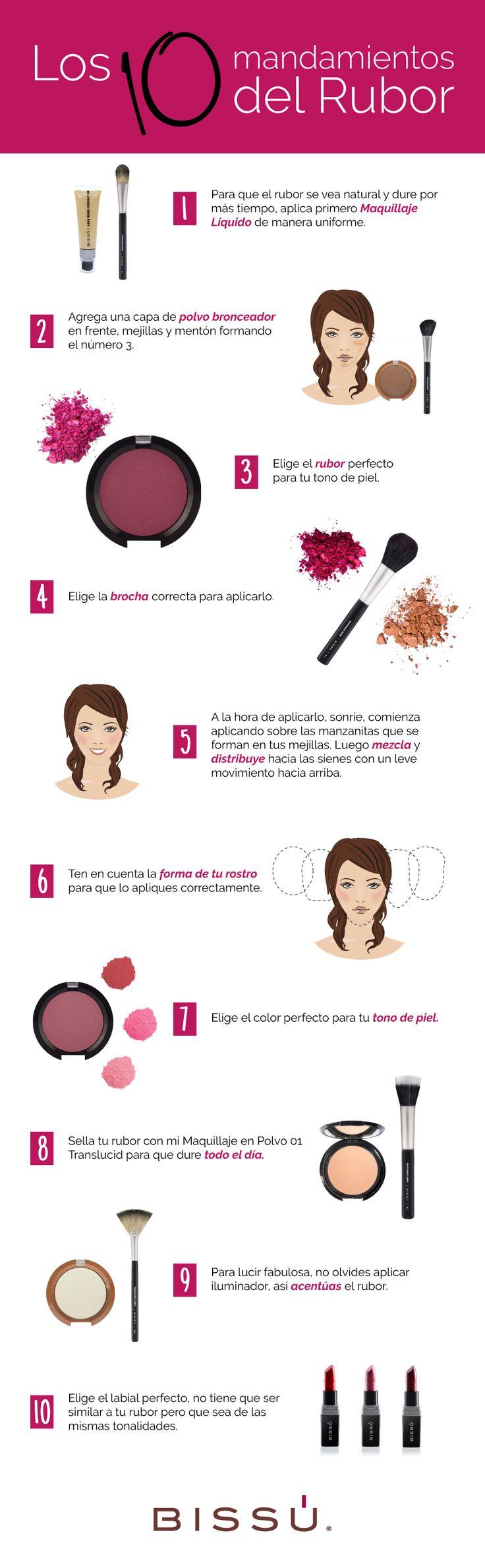 El rubor es un complemento muy importante en tu maquillaje, dale un buen uso y…
