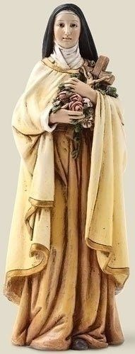 6 Inch Saint Therese Theresa Statue Little Flower Catholic Gift