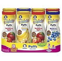 Gerber Graduates Puffs Cereal Snack, Variety Pack (1.48 oz., 8 ct.)