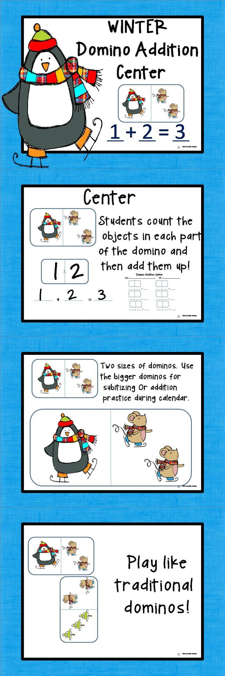 20 best Dominoes for Math images on Pinterest | Math stations ...