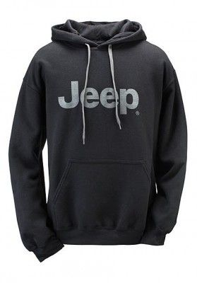 Jeep Premium Cotton Ringspun Fleece Hooded Sweatshirt