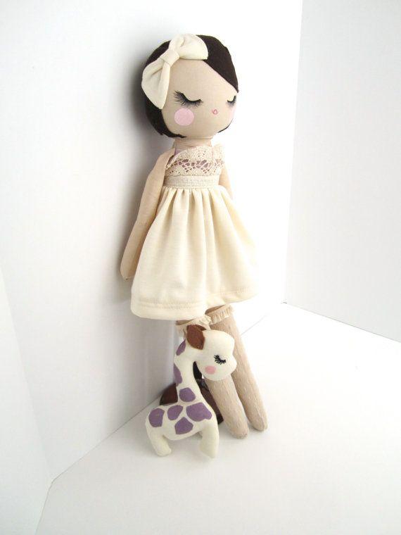 ❤︎   doll by mendbyrubygrace   -  etsy