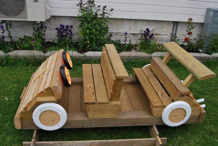 Car for playground