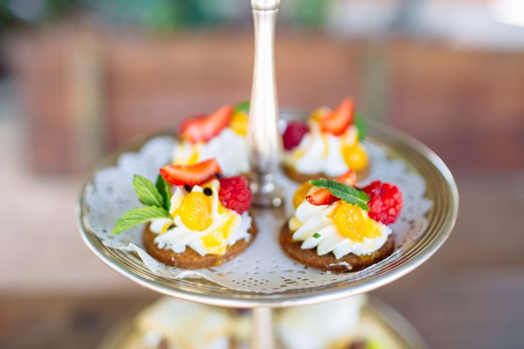 Delicious desserts served at Rosemary Hill's High Tea!