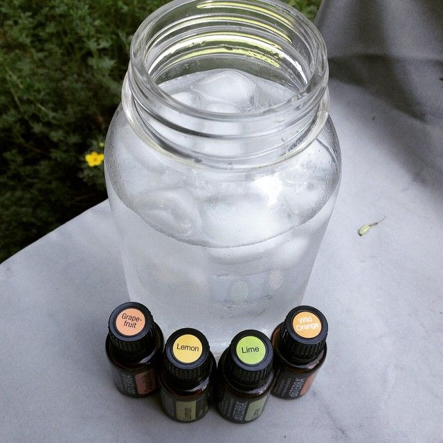 Us mountain folk are just melting in this heat wave! (Que Olaf's Summer song!) I'm on glass number 3 of iced water with essential oils. This is a quart mason jar and I do 2 drops. So refreshing! Other delicious additions are lime, grapefruit and wild orange. You can't go wrong adding a citrus essential oil to your water - all are super tasty and help energize and detox your body.  PLUS, it helps you drink more than plain water alone.