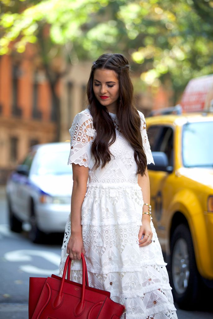 Behind The Scenes Style Pink Peonies Red Lipstick Outfit Blog
