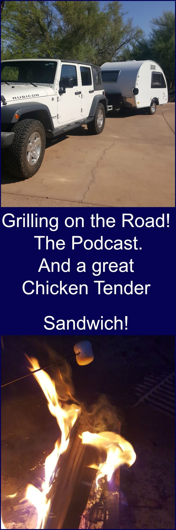 This 10 Minute Podcast has tips and tricks to help when you're grilling on the road! #Camping #campfood #getoutside This will help too: http://amzn.to/29aT93B
