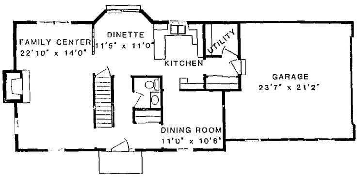 17 best images about house plans on pinterest 2nd floor for Center hall colonial house plans