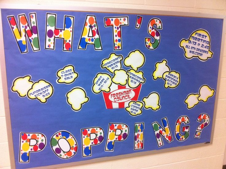No Shhing Here: September Bulletin Boards