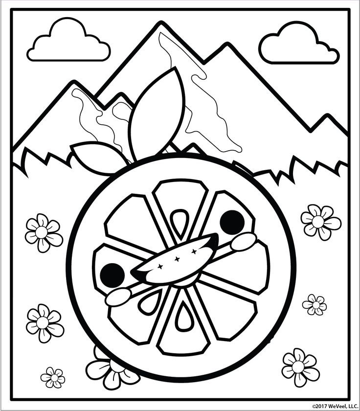 Free printable coloring pages at scentos.com Cute girl