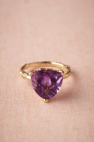 This is Anna's Birthday Stone and she just said she doesn't like Amethyst rings, but I wonder if this will change her mind?
