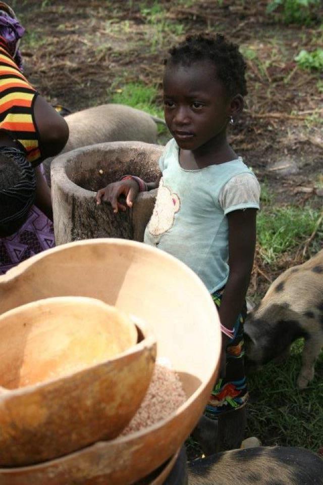 bowls in Burkina Faso Africa, 2012  realimpact.com