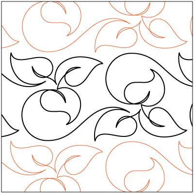 46 best Pantographs images on Pinterest Free motion quilting - loose leaf template