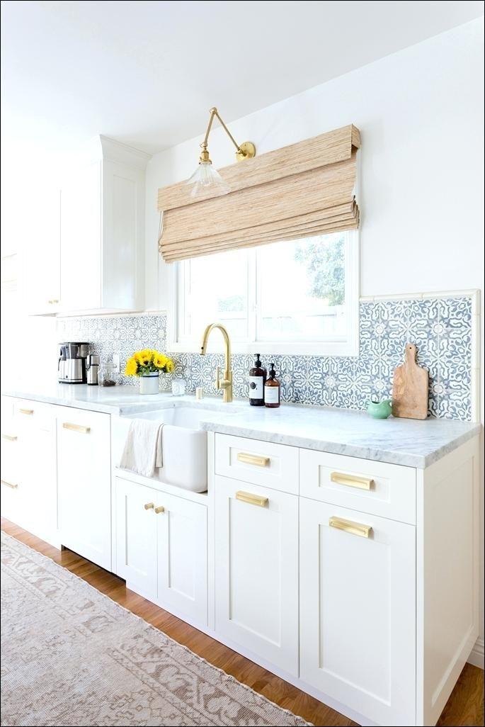 Brushed Gold Kitchen Hardware Fanciful Interior Design 2