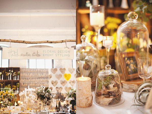 Glass dome wedding centerpiece idea the cream event nyc