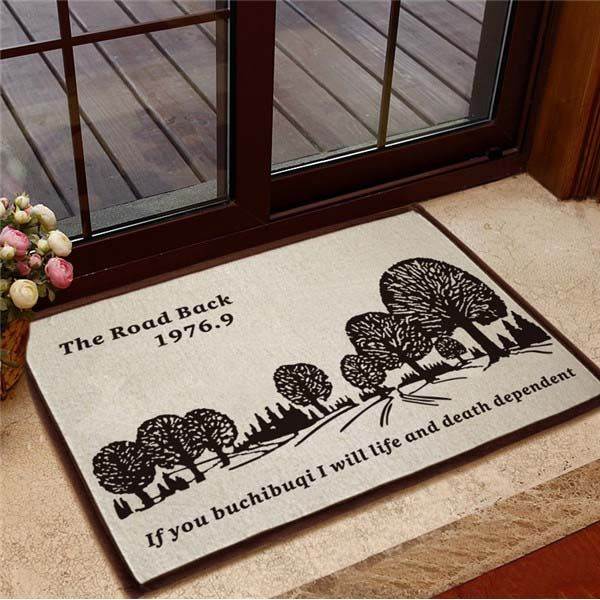 Front door mats, custom door mats, personalized door mats, large door mats, letter door mats, printed door mats, letter door mats, entrance door mats, cotton door mats can be make in our factory.