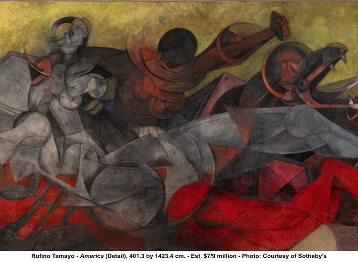 Rufino Tamayo images | Sotheby's New York to Offer Mural by Rufino Tamayo ~ entitled ...