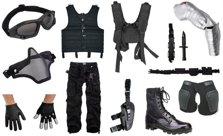 Winter Soldier Costume — Some useful tidbits to possibly expand on/upgrade my costume later.