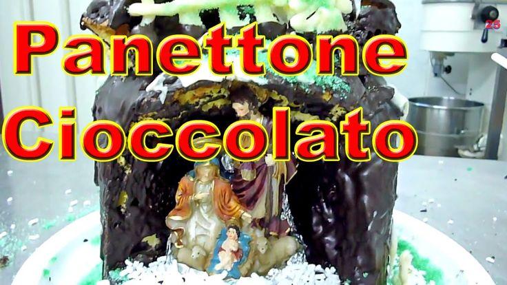 Ricette di Natale Presepe col Panettone di Cioccolato