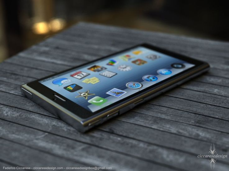 Next Generation iPhone 6 Concept Pictures Show Large Display with Thin Body