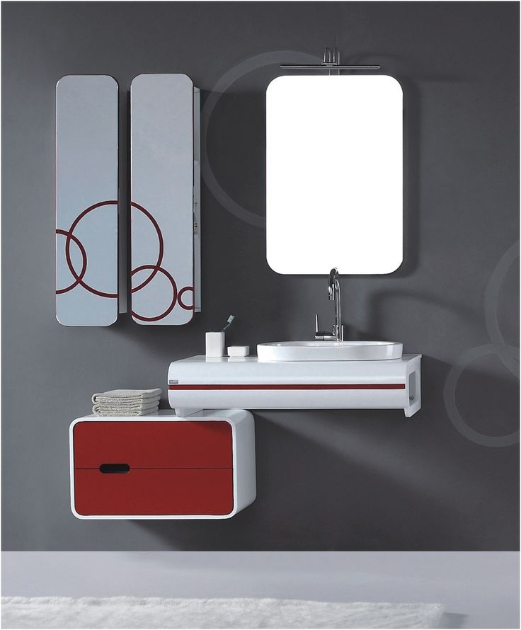 Modern Bathroom Mirror Cabinet With Light Electric Vanity And From Storage Cabinets