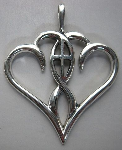 Two hearts centered in christ :) because I want my marriage centered around Christ