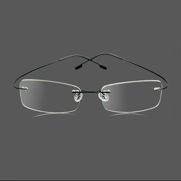 Rimless Hipster Glasses : Silhouette Ultralight Glasses Hipster Optical Frames ...