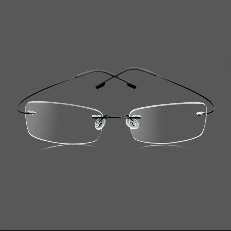 Silhouette Ultralight Glasses Hipster Optical Frames Rimless memory Titanium Eyeglasses Frames Men women Eyewear Oculos de grau