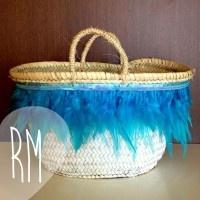 #capazos for #beach malibu-blue www.rosanamolto.com