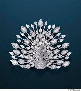 Harry Winston Broach of peacock                                                                                                                                                     More