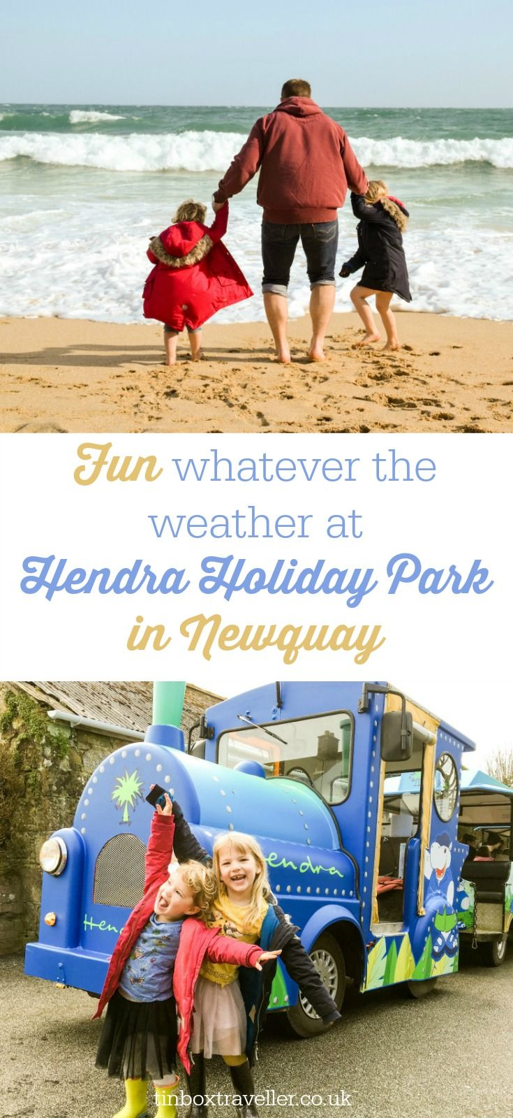 Hendra Holiday Park in Newquay has plenty of family-friendly activities to enjoy whatever the weather. We can highly recommend this Cornwall holiday park to families looking for holiday homes or camping in Cornwall #hosted #Cornwall #familyholiday #holidaypark #travelinspiration #travelwithkids #uktravel #Newquay