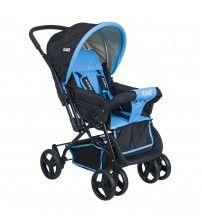 Kanz Rainer Çift Yönlü Bebek Arabası - Mavi