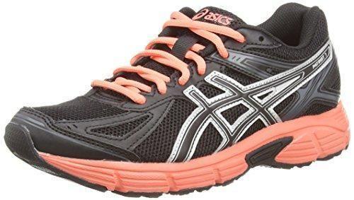 Oferta: 63.11€ Dto: -32%. Comprar Ofertas de ASICS Patriot 7 - Zapatillas de running para mujer, color negro (black/living coral/onyx 9076), talla 39 barato. ¡Mira las ofertas!