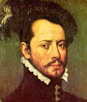 Hernan Cortès (1485/1547) conquistador espagnol sous Charles Quint