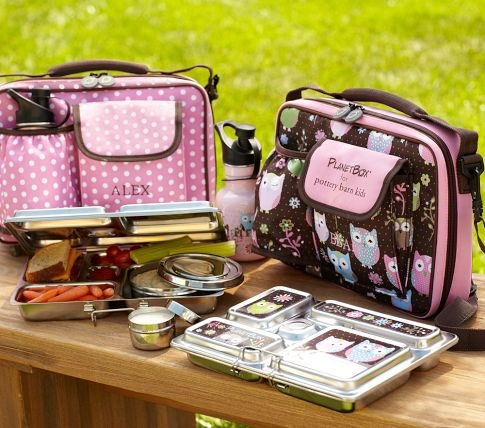 11 stainless steel bento lunch box from pottery barn kids momselect backtoschool back to. Black Bedroom Furniture Sets. Home Design Ideas