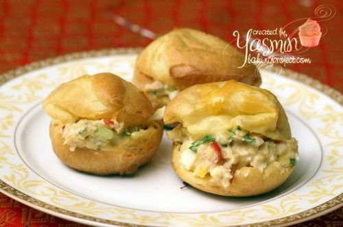 Choux pastry canap s banquet buffet food pinterest for Canape filling ideas