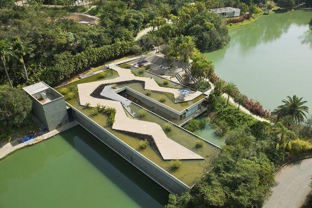 Centro Educativo Burle Marx, Inhotim, 2006/2009, Arquitetos Associados (Foto: Marcelo Coelho)