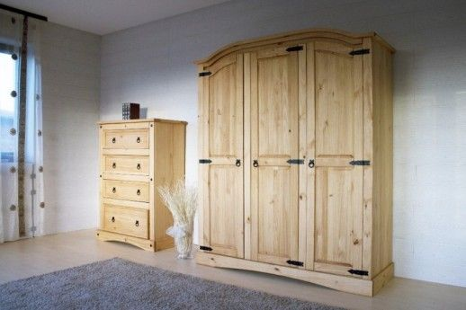 Ber ideen zu kleiderschrank massivholz auf pinterest garderobe massivholz schrank - Schlafzimmer pinie massiv ...