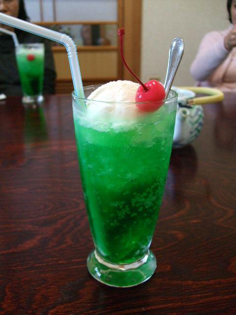 クリームソーダ ・Japanese Cream Soda