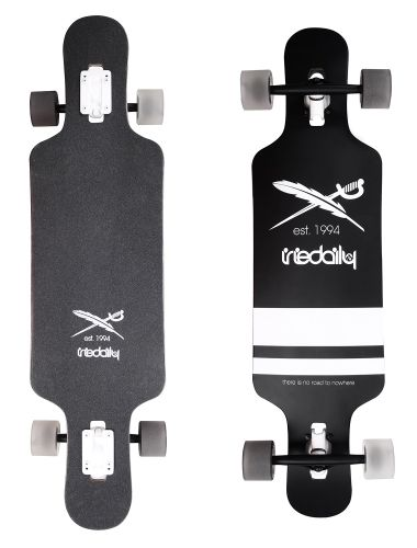 """Flag Longboard [black] *** IRIEDAILY """"Fight for your Ride"""" - Early Fall 2015 Collection OUT NOW: http://www.iriedaily.de/blog/iriedaily-early-fall-2015-collection-out-now-2/"""
